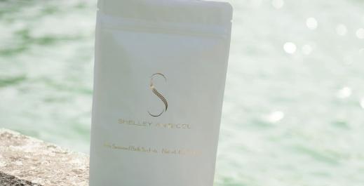 Seaweed bath sachets